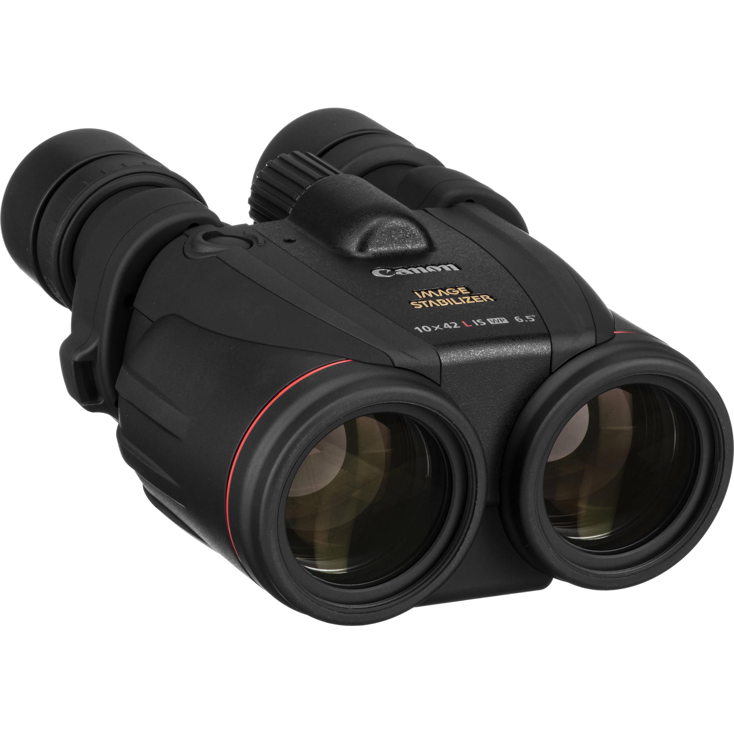 Canon 10X42 L Is Wp Image Stabilized Binocular 0155B002 B&Amp;H