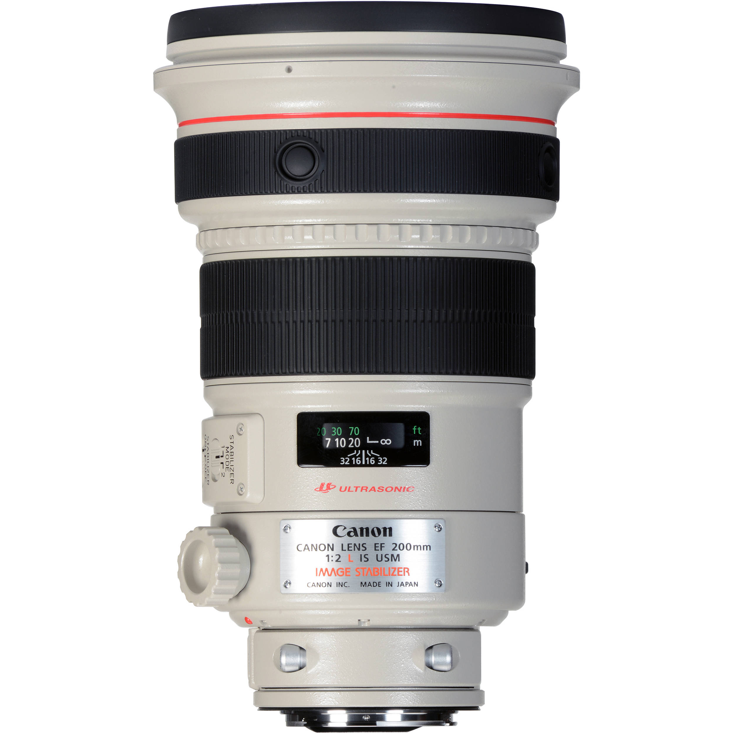 Canon Ef 200Mm F/2L Is Usm Lens 2297B002 B&Amp;H Photo Video