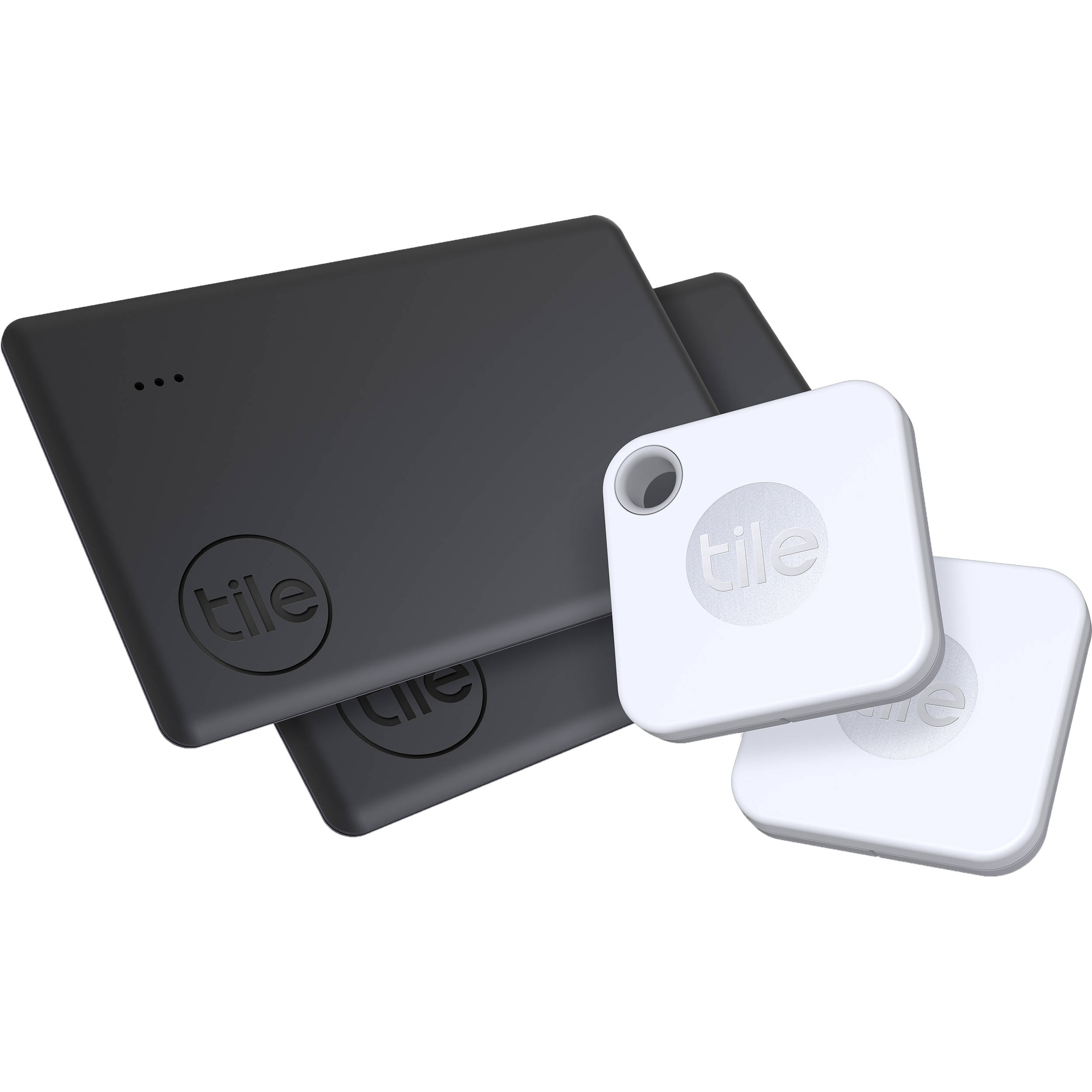 tile mate and slim bluetooth tracker combo 4 pack