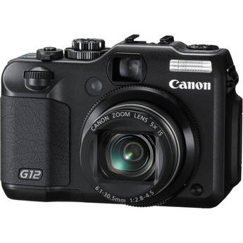 Canon Powershot G12 Premium Compact Camera