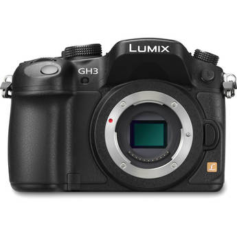 Panasonic Lumix DMC-GH3 Mirrorless Micro Four Thirds Digital Camera (Black)
