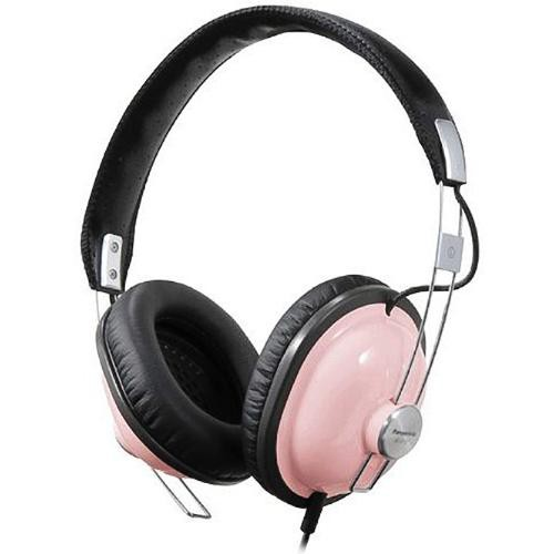 Panasonic RP-HTX7 Around-Ear Stereo Headphones (Pink)