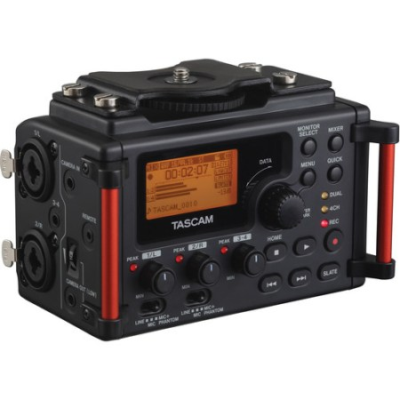 Tascam DR-60DmkII 4-Input / 4-Track Multitrack Field Recorder