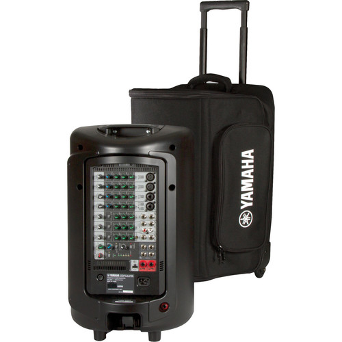 Yamaha Soft Rolling Carry Case For Stagepas 600i Ybsp600i B Amp H