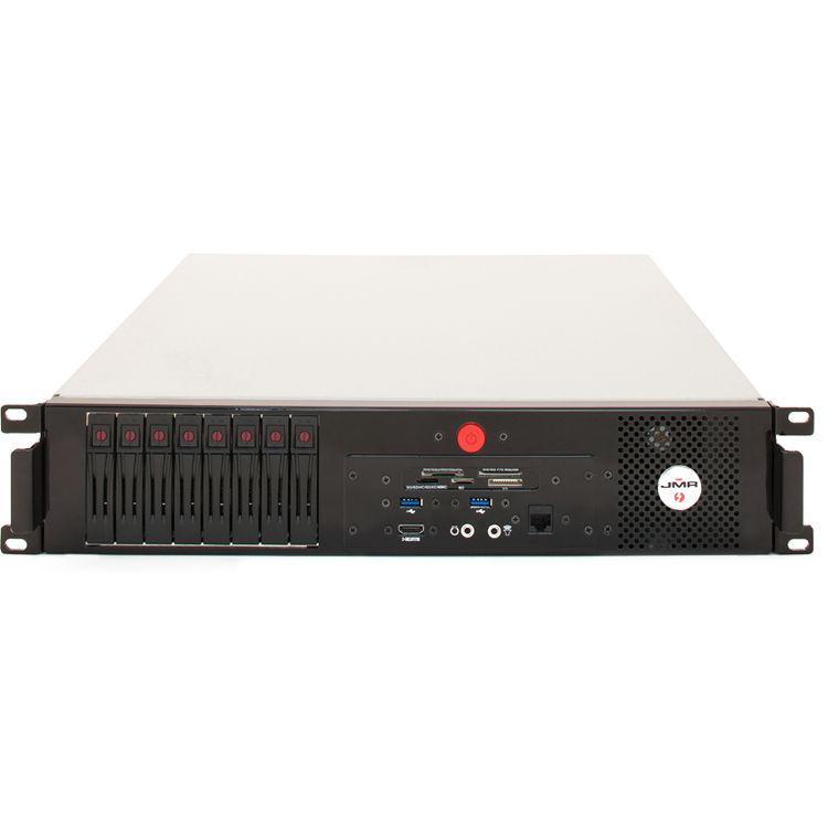 jmr electronics mac mini lightning thunderbolt raid rackmount work station