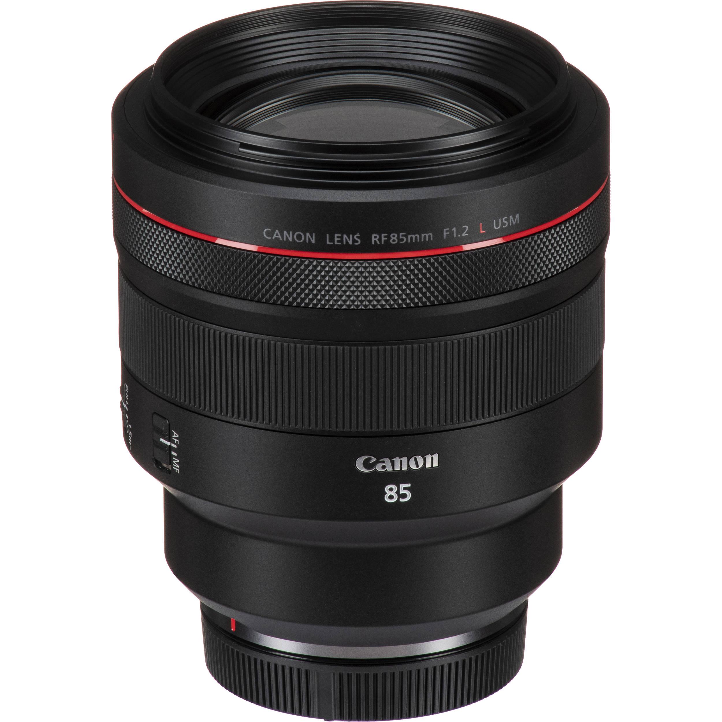 Canon RF 85mm f/1.2L USM Lens 3447C002 B&H Photo Video