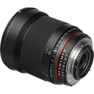 Rokinon 16mm f/2.0 ED AS UMC
