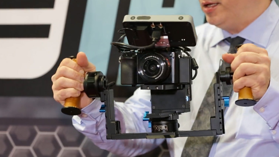 Image result for Letus Helix Jr. Aluminum 3-Axis Gimbal Stabilizer - HD Images