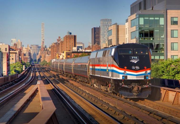 """""""Usually it is preferred to take photos of the front of the train, as opposed to the rear—but in this case the light is better for capturing the rear."""""""