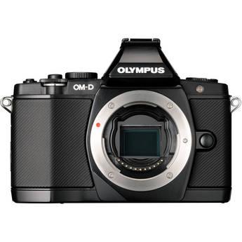 Olympus OM-D E-M5 Micro Four Thirds Dijital Fotoğraf Makinesi (Sadece vücut, Siyah)