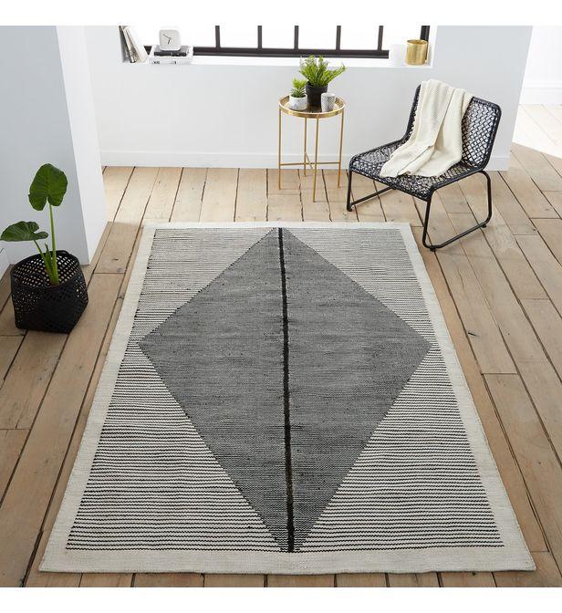 tapis tisse plat facon kilim indoor