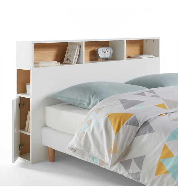 tete de lit avec rangement biface la