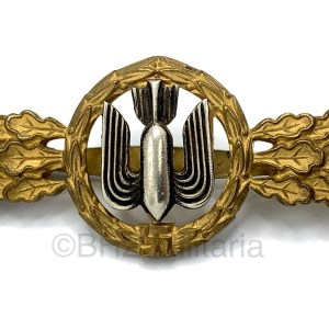 Flightclasp for Fighterpilots Gold G.H. Osang Dresden