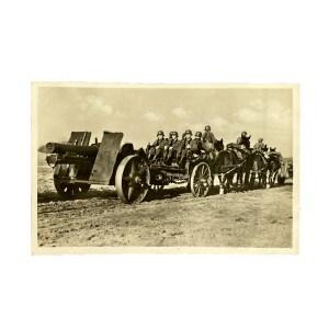 Unsere Wehrmacht - Artillerie im Vormarsch
