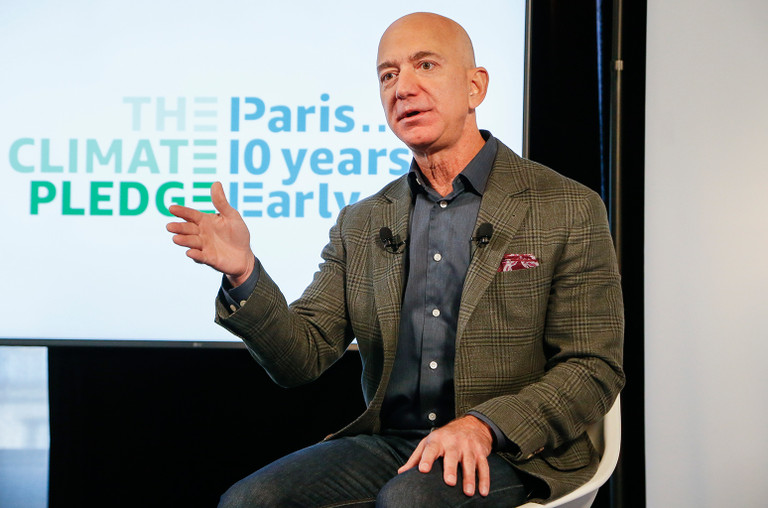 Music artists confront Jeff Bezos over Twitch royalties