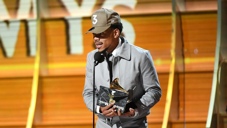 Chance The Rapper S Coloring Book Is First Streaming Only Album To Win A Grammy Billboard Billboard