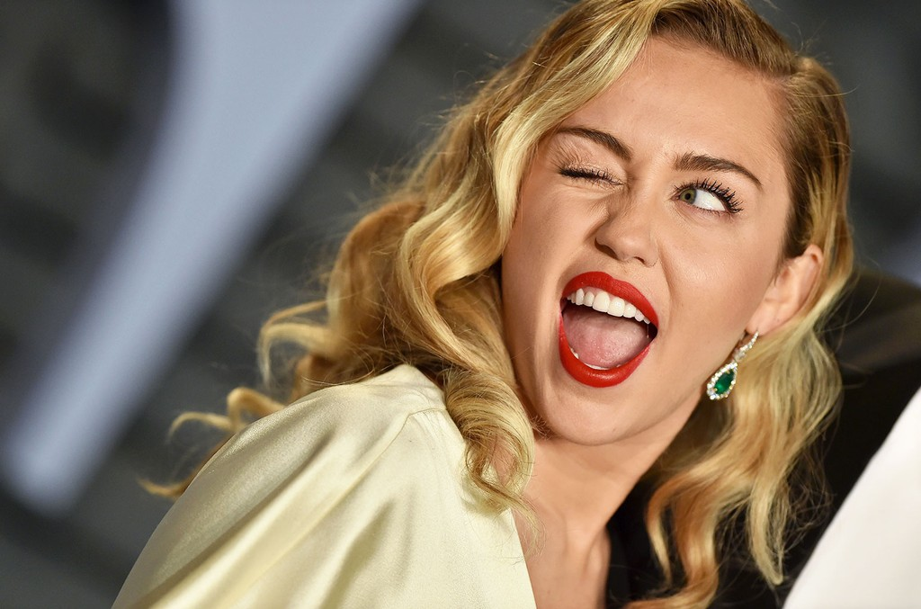 Miley Cyrus Shoots Down Pregnancy Rumors With A Little Help From