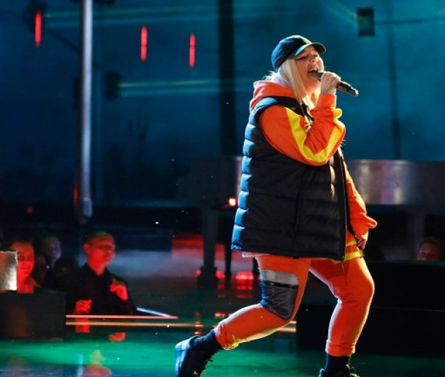 Tones And I Unleashes Dance Monkey On The Voice Top
