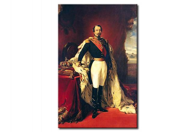 tableau deco portrait of napoleon iii