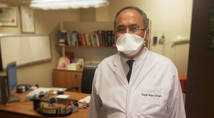 Koronavirüsü yenen Prof. Dr. Tutluoğlu'ndan maske uyarısı