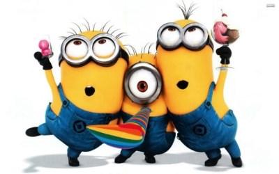 Resultado de imagen de felicidades minions