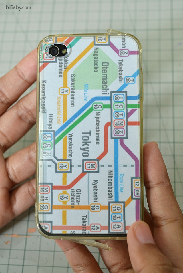 Map case for Iphone เคสลายแผนที่