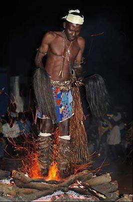 la danse du feu en pays bassar - les nouvelles de chez nous