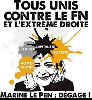 Image result for front uni contre le fascisme