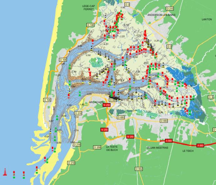 33 Arcachon Rglementation De Navigation GPM Guide