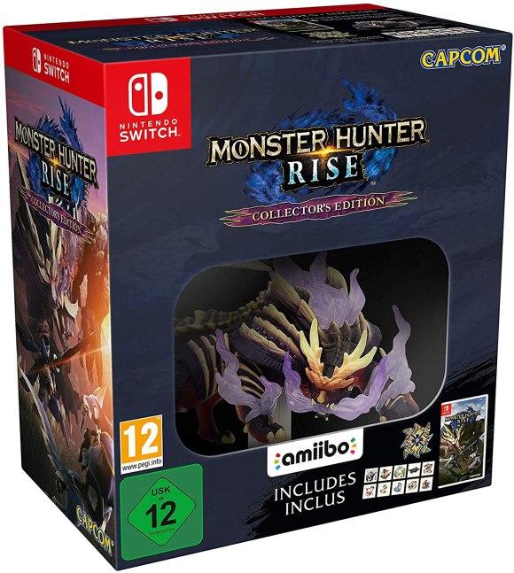 Préco] MAJ Monster Hunter Rise - Switch - Steelbook Jeux Vidéo : Steelbook,  FuturePak, Edition Collector et Jeux Vidéo - PS4 Xbox One Switch