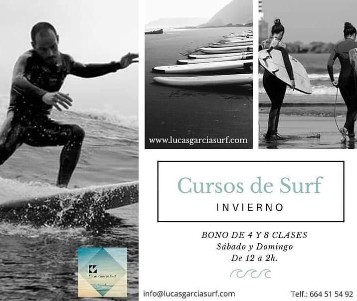 clases surf salinas