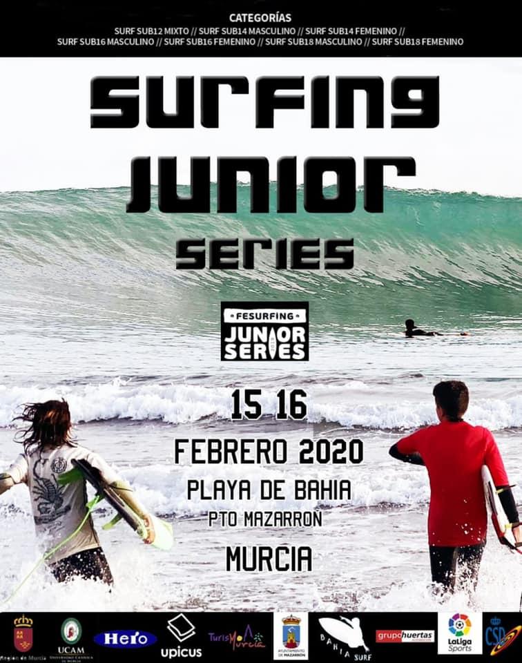 surfing junior mazarron