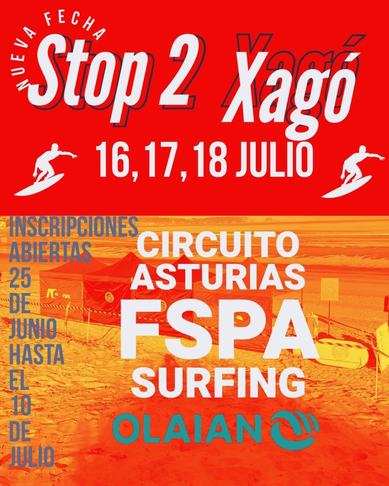 campeonato surf xago