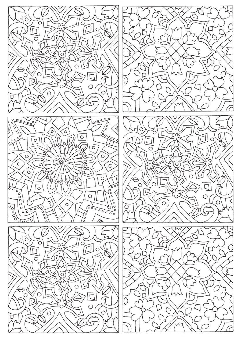 Booktopia Patterns From Around The World Colouring Book