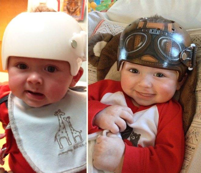 Baby Helmet Painting Lazardo Art