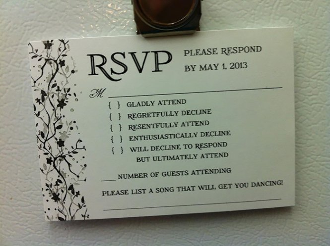 9 Hilarious Wedding Invitations That Simply Can T Be Ignored
