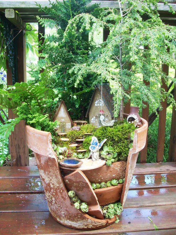 broken-pot-fairy-garden-7