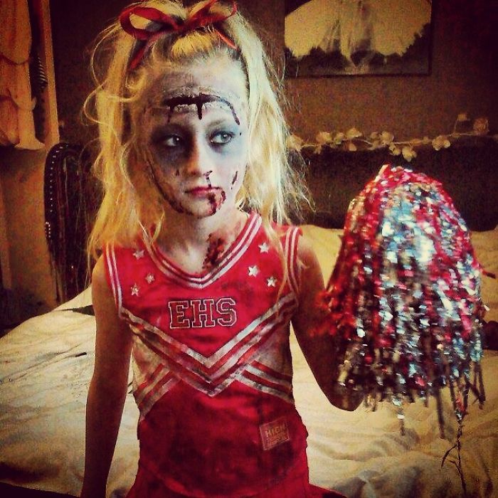 Image result for zombie cheerleader costume