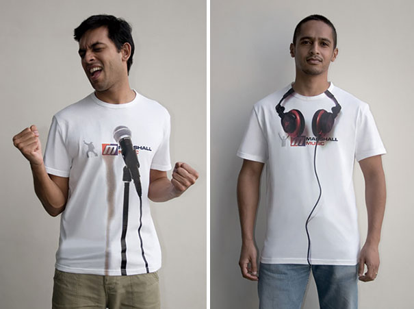 Marshall Music Experiential T-shirts