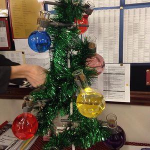 Chemistry Teacher's Christmas Tree
