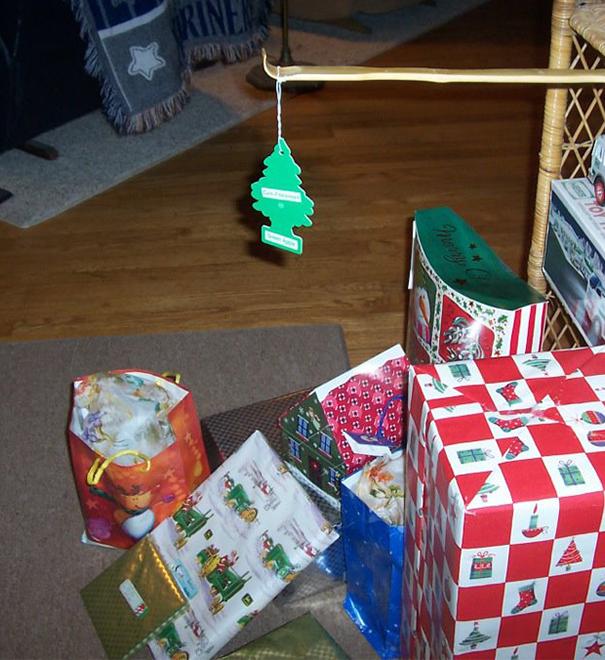 "The ""I'm Broke Or I'm Lazy"" Christmas Tree"