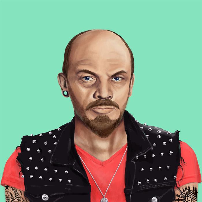 Lenin hipster