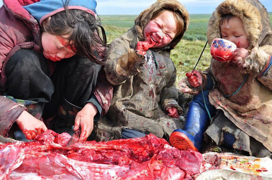 Siberian Family Meal
