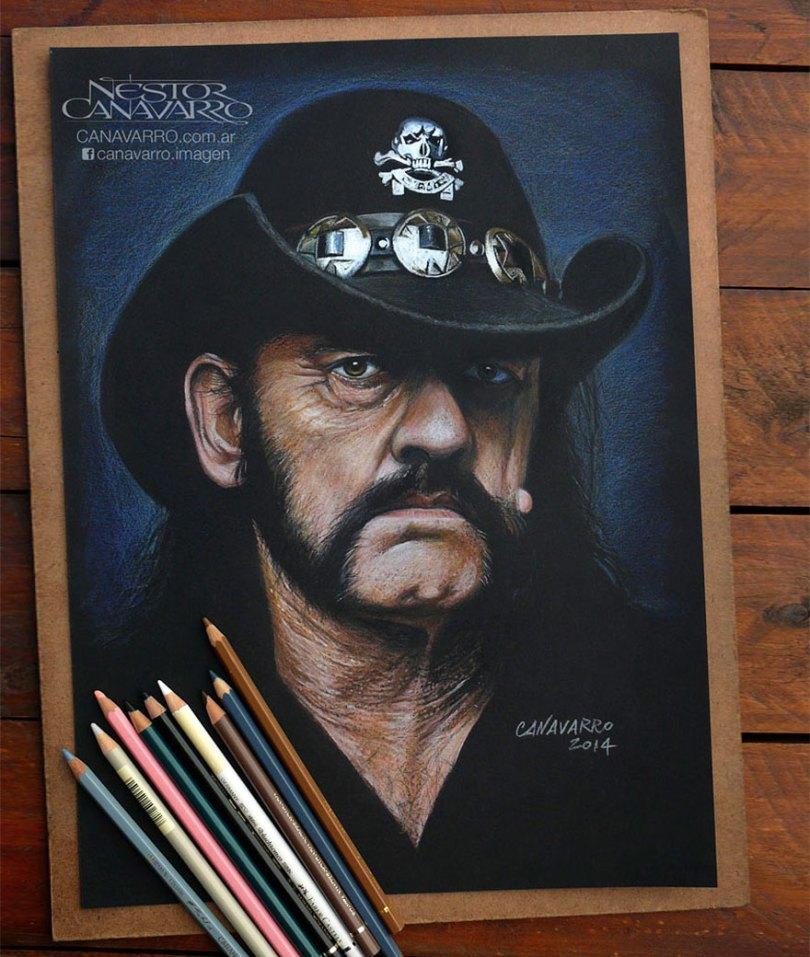 realistic portraits colored pencil drawings nestor canavarro 6 - Os desenhos hiper realistas de Nestor Canavarro