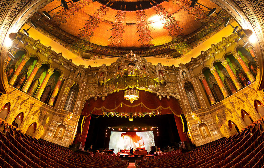 Fox Theater, Detroit Mi