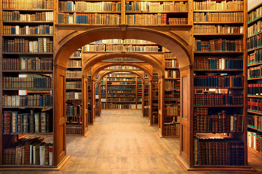 The Oberlausitzische Library Of Science, Gorlitz, Germany