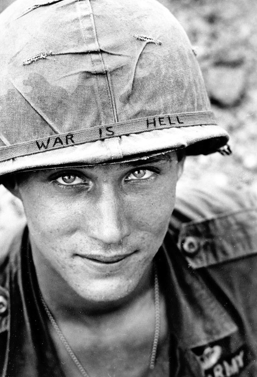 Unknown Soldier On Duty In South Vietnam, 1965