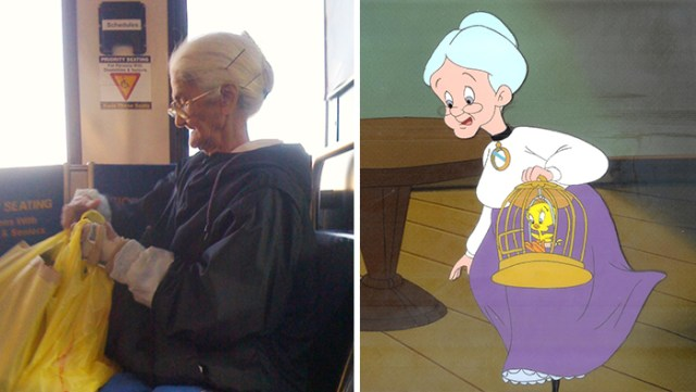 Real Life Grandma From Looney Tunes