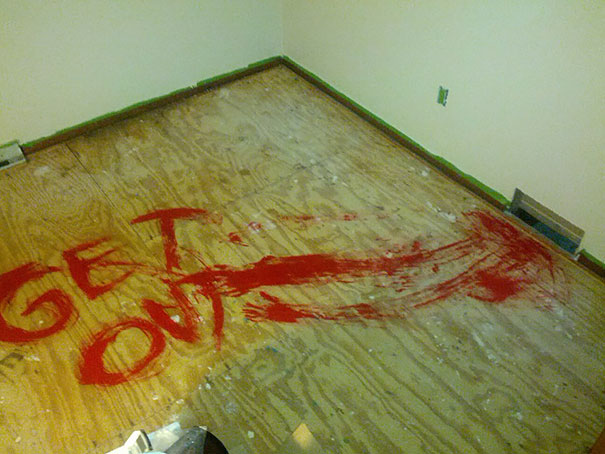 Leave A Surprise For Whoever Redoes The Carpet