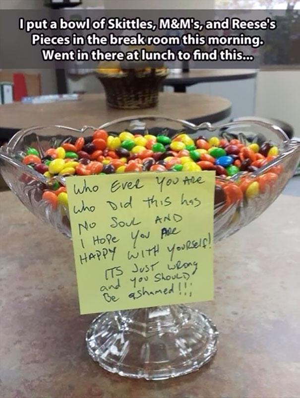 Mix Skittles, M&m's And Reese's Pieces
